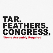 TAR FEATHERS CONGRESS SOME ASSEMBLY REQUIRED