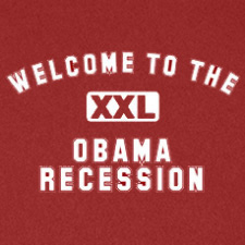 WELCOME TO THE OBAMA RECESSION