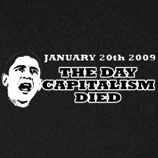 JANUARY 20TH 2009 THE DAY CAPITALISM DIED